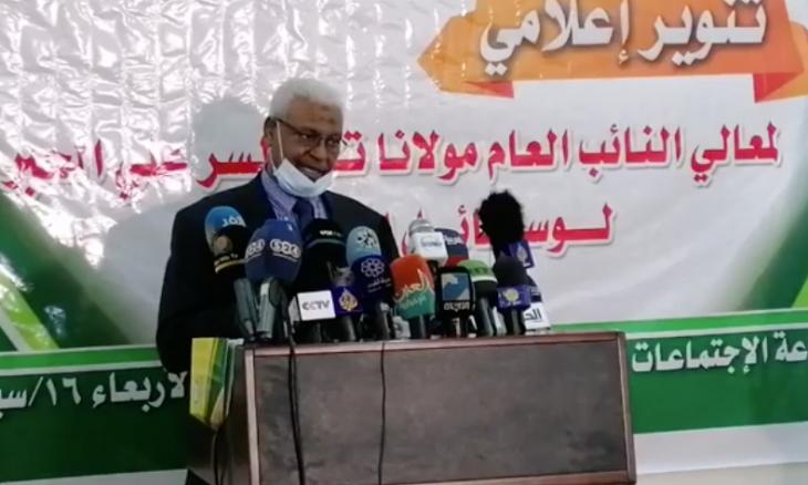 لنائب العام السوداني يعلن القبض على 41 متهما
