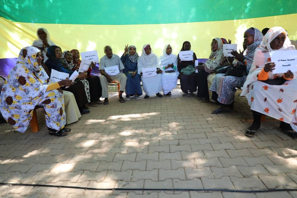 السودان : تجمع منسوبي جامعة الجزيرة ينظمون وقفة احتجاجية
