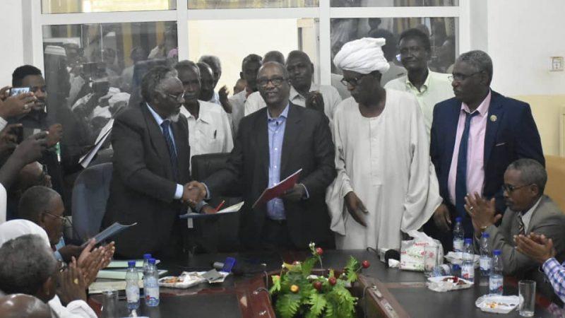 السودان : ادارة مشروع الجزيرة تتسلم (13) محلج وورش بمارنجان