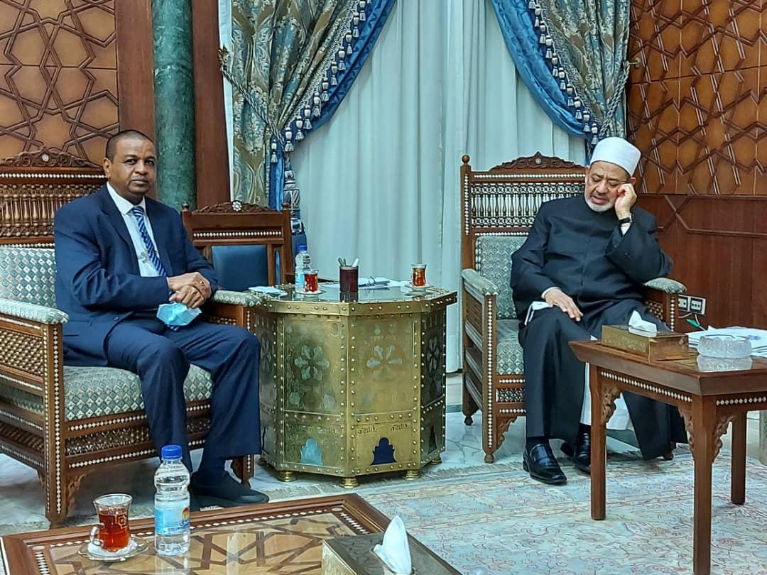 تعاون مشترك بين زكاة السودان والازهر الشريف