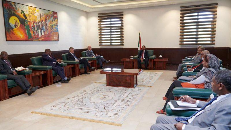 حكومة السودان تؤكد استعدادها دعم اليونتامس