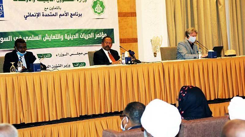 رئيس الوزراء السوداني : ندعم حرية الاديان التي تقرها الامم المتحدة