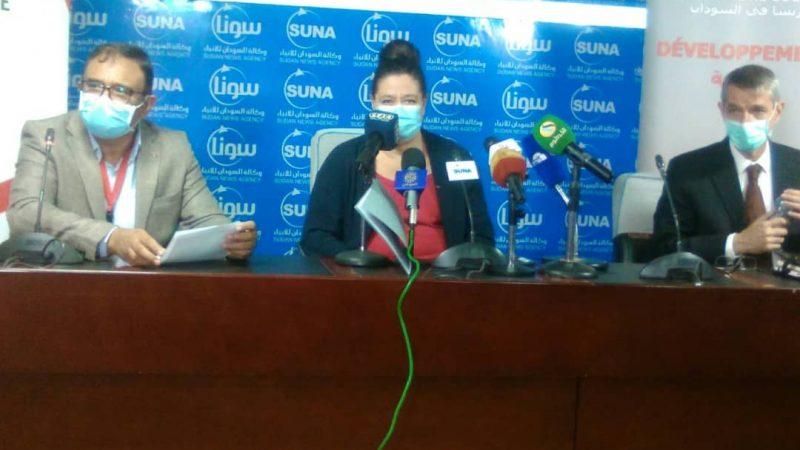 السودان : اتفاق مع الوكالة الفرنسيه لدعم جهود الحكومة لمنع انتشار الموجه الثانيه من فيروس كورونا