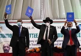 الخرطوم تستقبل قادة اطراف العملية السلمية وتحتفل ببدء مرحلة جديدة