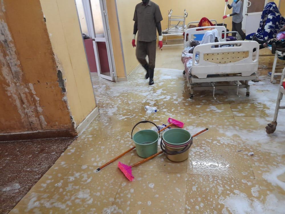 الجزيرة : المطالبة بتنفيذ الضوابط الصحية بمجمع طوارئ مستشفى ود مدني