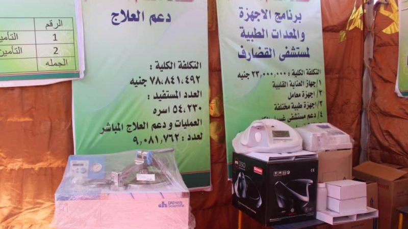 الزكاة تساهم بتوفير أكثر من ( ٩٠٠) أسطوانة أكسجين شهرياً لمستشفيات القضارف