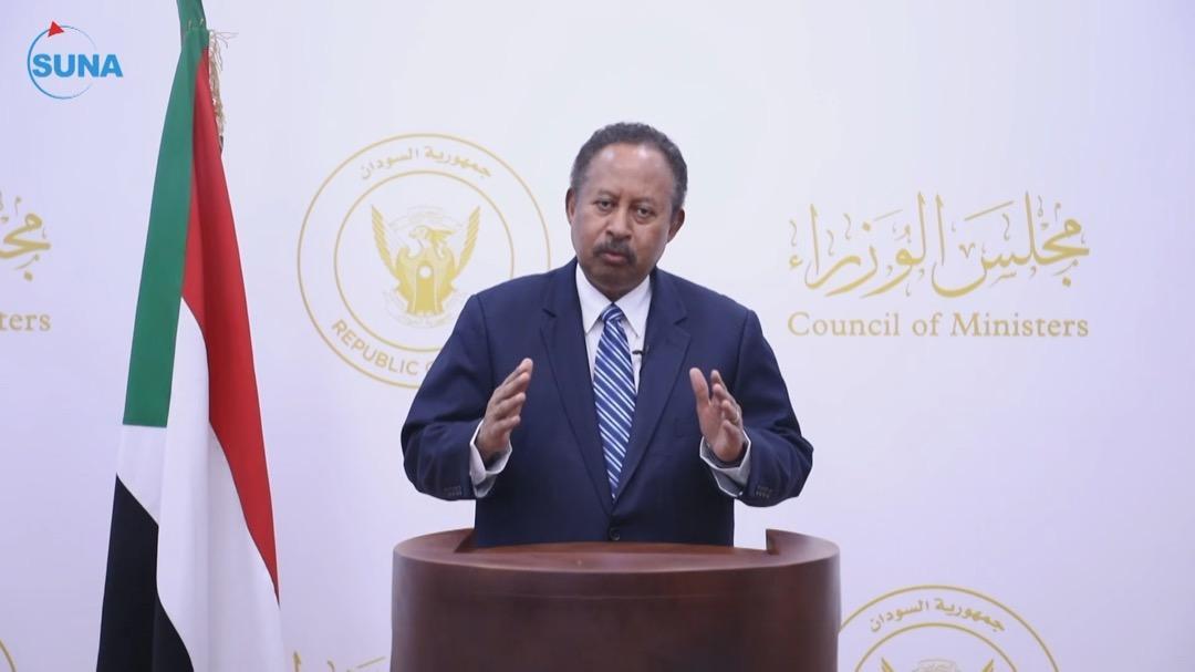 حمدوك يصدر قرارا بحل الحكومة الانتقالية في السودان