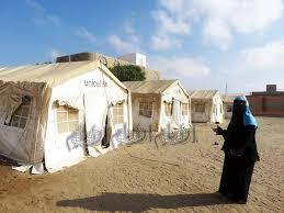 """توزيع """"46"""" خيمة في عدّة مدارس في الخرطوم بعد الانهيار"""