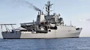 أول سفينة حربية روسية تصل ميناء بورتسودان
