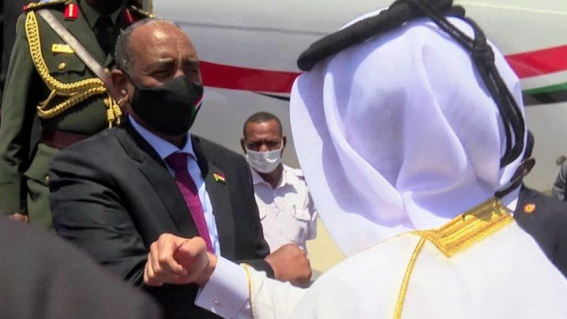 البرهان يصل الدوحة