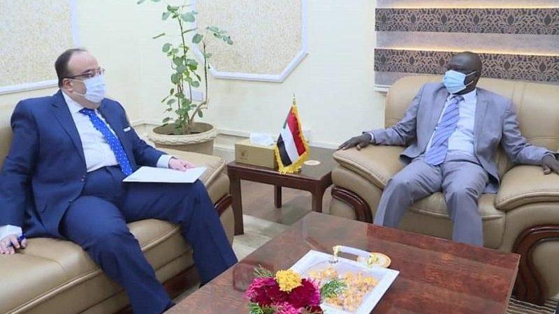 تاور يبحث مع السفير المصري سبل تعزيز الشراكة بين البلدين
