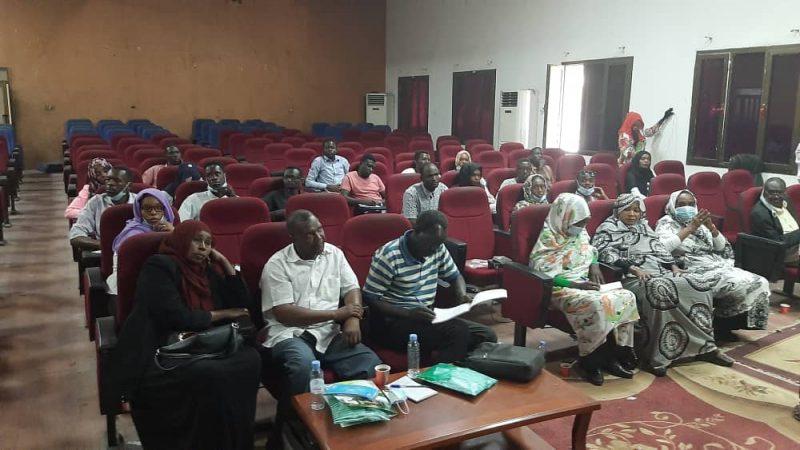 تنوير لاجهزة الاعلام بجنوب دارفور لايصال برنامج ثمرات للمواطنيين