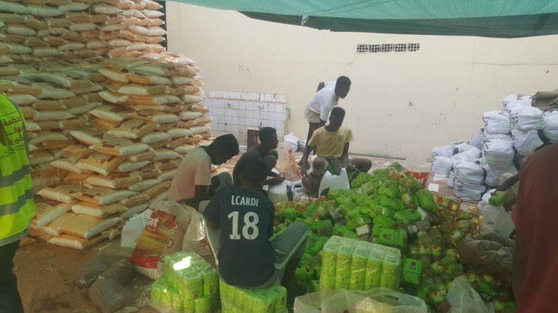 مؤائد الخيرية تدشن مشروع السلة الغذائية لشهر رمضان ل(10) الف مستفيد